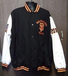 G-III Sports Carl Banks MLB San Francisco Giants 2010 WS Champs Jacket Size 3XXL