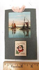 1910 Calendar and Post Card - Goderich Ontario  - Excellent Condition - CDN