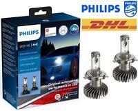 Philips H4 LED X-tremeUltinon Gen2 Car Headlight Bulbs 6000K +250% 11342XUWX2