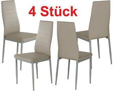 Tisch- & Stuhl-Sets in aktuellem Design aus Kunstleder fürs Wohnzimmer