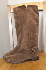 New J Crew Suede Lowell Boots Brown Sz 9.5 $298 A9827 Sold Out Online
