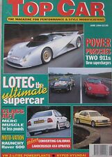 Top Car 06/1994 featuring Steinmetz Calibra, Lotec C1000, PMG Hyundai S-Coupe