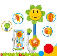Baby Bath Toys Children Sunflower Shower Faucet Bath Washing Toy Funny Kids Gift