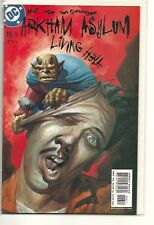 BATMAN ARKHAM ASYLUM LIVING HELL 6! NM!