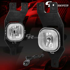 CLEAR LENS FOG LIGHT LAMP+SWITCH LH+RH FOR FORD 99-04 SUPER DUTY 01-04 EXCURSION