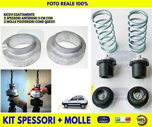 Rialzo Fiat Panda 4x4 Molle Spessori 3 cm Carico Sovraccarico Stabilizzatori