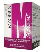 Magnus Supreme by omnilife Supplement Energy Drink (Box 30 Sachets)FREE SHIPPING