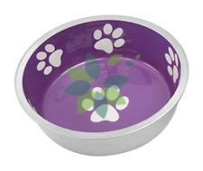 Pet Dog Cat Food Puppy Kitten Food Water Bowl Dish Feeder X Small Purple Durable