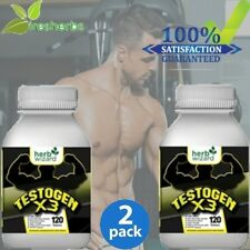 #1- TESTOGEN ANABOLIC -STRONG LEGAL TESTOSTERONE BOOSTER SUPPLEMENT 240 TABLETS
