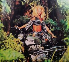 "1968 Triumph Motorcycle Great Escape print gift ""Ready to Display"" bike ad 1969"