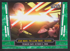 Topps Star Wars - 40th Anniversary - Green Parallel Card # 10