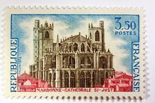 TIMBRE FRANCE NEUF LUXE N° 1713 ** MNH  NARBONNE CATHEDRALE SAINT JUST