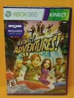 Kinect Adventures! - Microsoft Xbox 360 Game - BRAND NEW FACTORY X Y SEALED