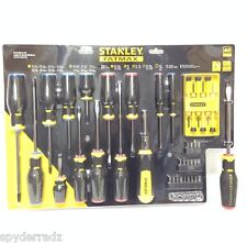 NEW STANLEY FATMAX 45 PC PIECE SCREWDRIVER SET MAGNETIC TIP FMHT62013 NEW IN BOX