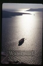 Mar 31 1970 kodachrome photo slide ship SS Stella Oceanis   Santorin