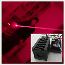 Fat Beam Real 150mW12V 650nm Red laser module With TTL driver board and Fan