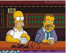 RICKY GERVAIS & DAN CASTELLANETA signed autographed THE SIMPSONS photo