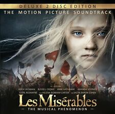 LES MISERABLES THE MOTION PICTURE SOUNDTRACK DELUXE CD NEU