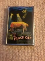 Cigarette Case The Black Cat Bela Lugosi Boris Karloff Business Card Holder