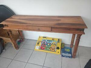 Indian Hardwood Side Table