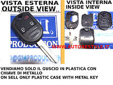 SOLAMENTE COVER SHELL PARA CONTROL REMOTO FORD MUSTANG 3 BOTONES ONLY CASO 3