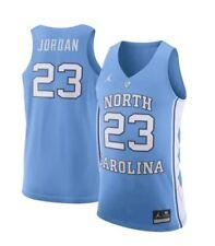 Nike Air Jordan UNC North Carolina Michael Jordan #23 Authentic Jersey SZ Medium