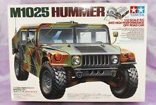 Raro TAMIYA 1/12 RC M1025 HUMMER Modelo Kit #58154 Nuevo