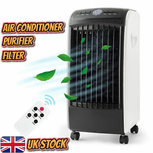 Portable Air Cooler Conditioner and Purifier w/Remote Cooling Conditioning Fan