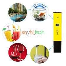 New Digital PH Meter Water Tester Pen LCD Monitor For Pool Aquarium Laboratory