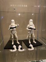 "Kotobukiya ArtFx+ Star Wars SNOWTROOPER 7"" figures statues Kit NO box"