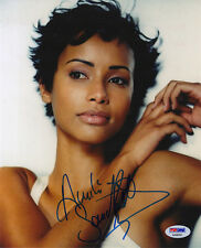 SONIA ROLLAND MODEL & ACTRESS & MISS FRANCE SIGNED PHOTO PSA