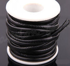 1/5M Snake Skin Faux Leather Cord PU Thread Wire Jewelry Bracelet Making DIY 6mm