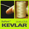 KEVLAR DuPont 70 LB 0.4 mm 1000 FT 304M TRIP LINE BRAIDED WIRE LINE KITE FISHING