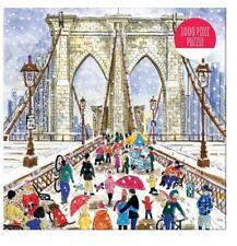 Michael Storrings Brooklyn Bridge 1000 Piece Puzzle by Galison