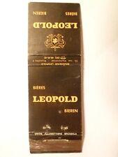 Pochette allumette - BIERE BRASSERIE LEOPOLD - BIER - Belgium - (98)