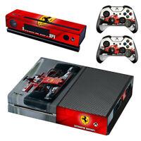 Formula 1 F1 Ferrari Scuderia Xbox ONE Skin Sticker for Console & 2 Controllers
