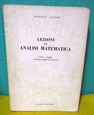 Cafiero LEZIONI DI ANALISI MATEMATICA parte prima seconda ed. - Liguori 1990