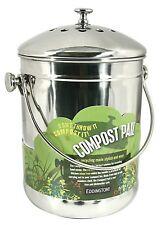 Eddingtons Deluxe Compost Pail Bin - Kitchen Caddy