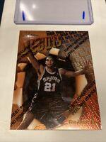 1997 - 1998 Topps Finest Tim Duncan San Antonio Spurs #101 Basketball Card SALE!