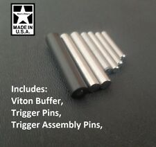 Ruger 10/22 ULTRA Cross/Drift Pin Kit, Stainless Steel and Viton Bolt Buffer