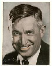 1932 Promo Photo Will Rogers Color Movie Studio Promo Cowboy Cherokee Indian