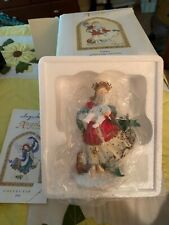 2001 Angels Beside Me Ashley Guardian of Baby's First Christmas Nutshell Designs