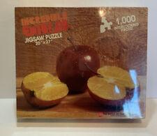 Vintage 1986 Incredible Edibles Puzzle 1000Pc Pomme D' Orange Sealed New Avalon