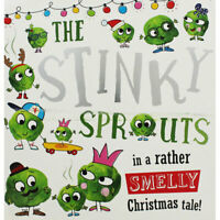 Preschool Christmas Story Book: THE STINKY SPROUTS by Rosie Greening - NEW