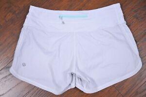 Lululemon Groovy Run Short White Women's 4