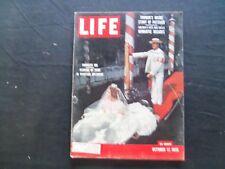 1955 OCTOBER 17 LIFE MAGAZINE - PRINCESS IRA FURSTENBERG - L 977