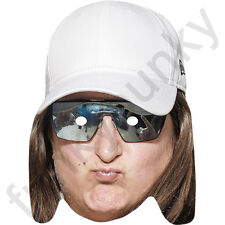 Honey-G Music X Factor Celebrity Card Mask - All Our Masks Are Pre-Cut!