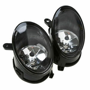 Pair Front Fog Lights Driving Lamp 55W 12V For Audi A6 / A6 Quattro C6 2005-2008