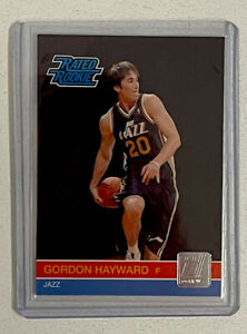 "2010-11 DONRUSS NBA #236 GORDON HAYWARD ""RATED ROOKIE"" RC"