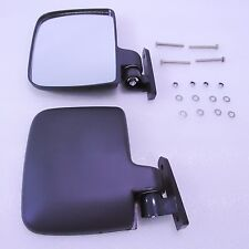 Universal Golf Cart Folding Side View Mirrors, Club Car, EZGO, Yamaha,Zone Carts